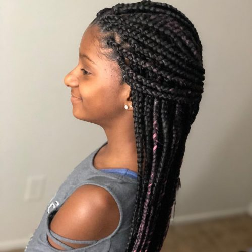 The 11 Cutest Box Braids for Kids in 2020