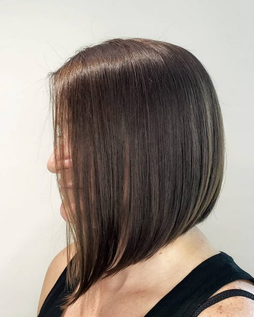razor cut for medium length hair