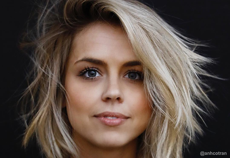 23 Perfect Medium Hairstyles for Square Faces (Popular for 2019)