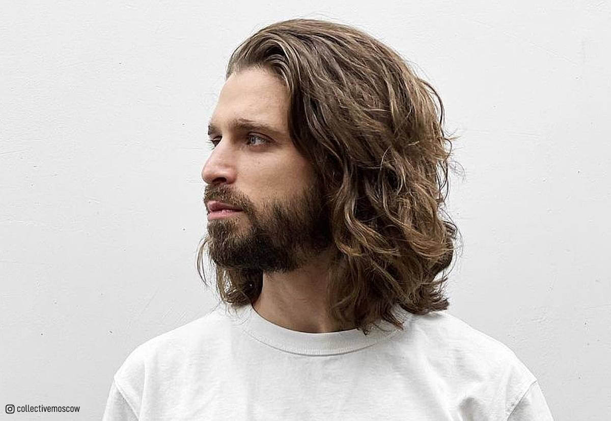 31 Awesome Long Hairstyles for Men in 2020