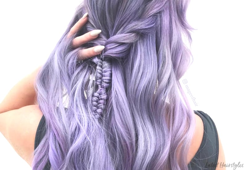 Top 13 Pastel Purple Hair Color Ideas You'