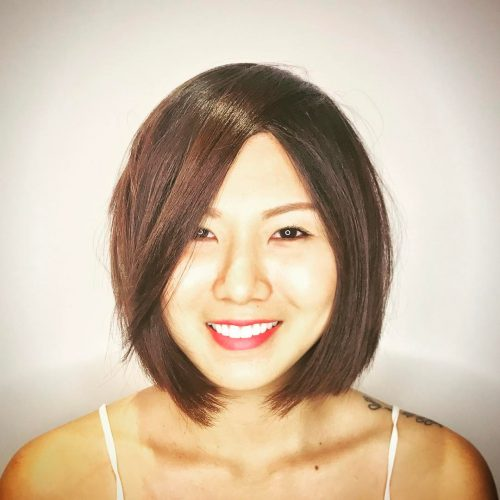 Perfect Layered Lob for Round Faces