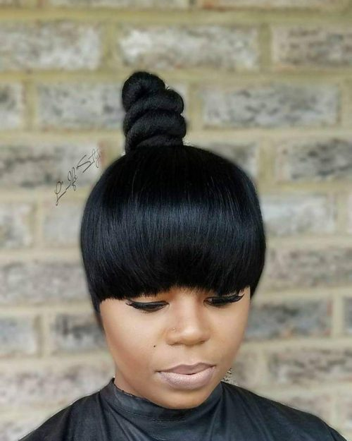 Quick and Easy Top Knot