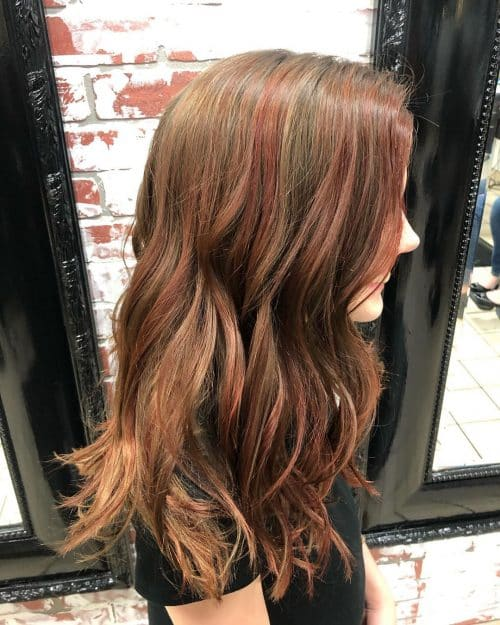 Red Balayage Hair Colors 19 Hottest Examples for 2020