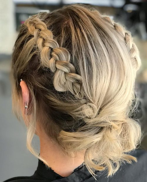 18 Gorgeous Prom Hairstyles For Short Hair For 2019