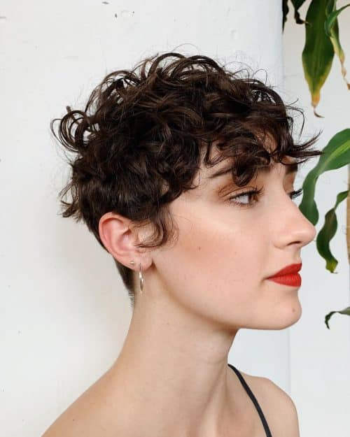 13 Short Curly Hair With Bangs Youll Fall In Love With