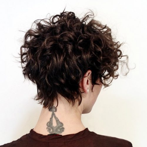 25 Cute Easy Hairstyles For Short Curly Hair