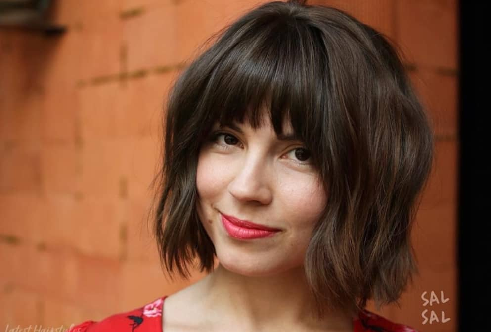 25 Short Hair With Bangs That Anyone Can Wear in 2020