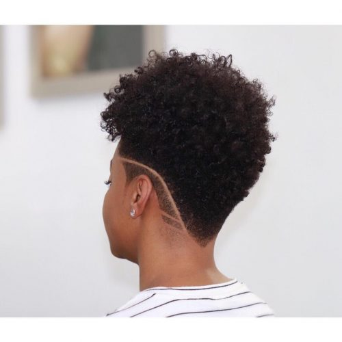 19 Hottest Short Natural Haircuts for Black Women with Short