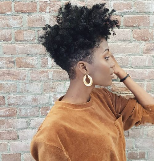 19 Hottest Short Natural Haircuts For Black Women With