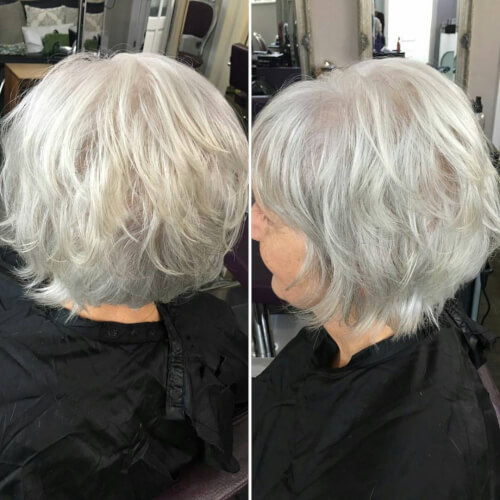 Platinum Blonde Bob Wig Uk