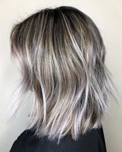 Top 9 Black Hair With Blonde Highlights Ideas In 2019