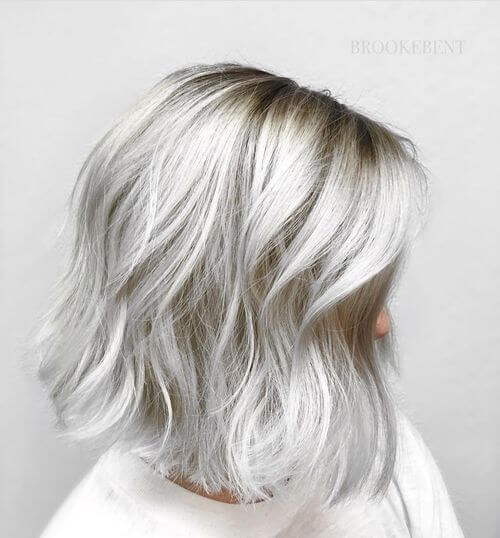 30 Silver Hair Color Ideas - 2020\'s Hottest Grey Hair Trend