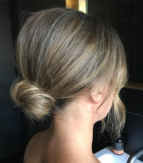 21 Super Easy Updos Anyone Can Do Trending In 2019