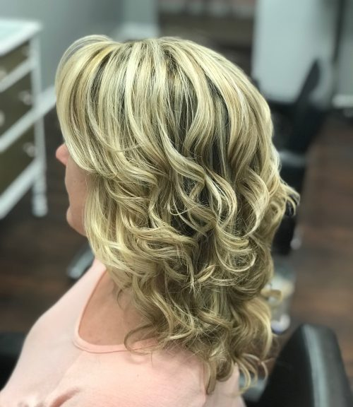 Hairstyle For Wedding Godmother: Mother Of The Bride Hairstyles: 26 Elegant Looks For 2020