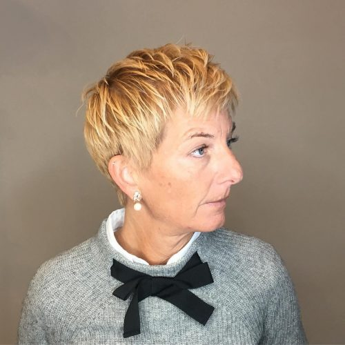 21 Edgy Amp Cute Short Hairstyles Amp Haircuts For Women Over 60