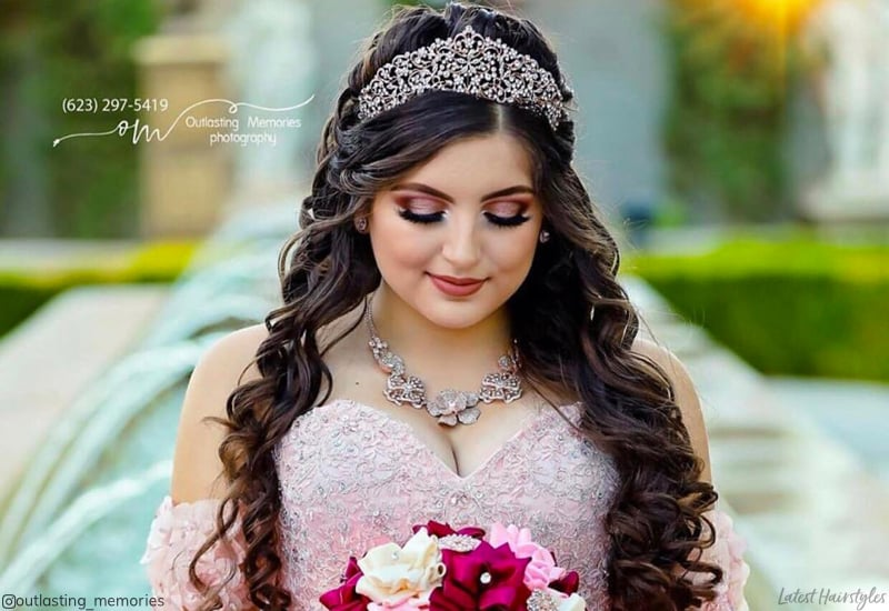 15 Stunning Quinceanera Hairstyles To Consider