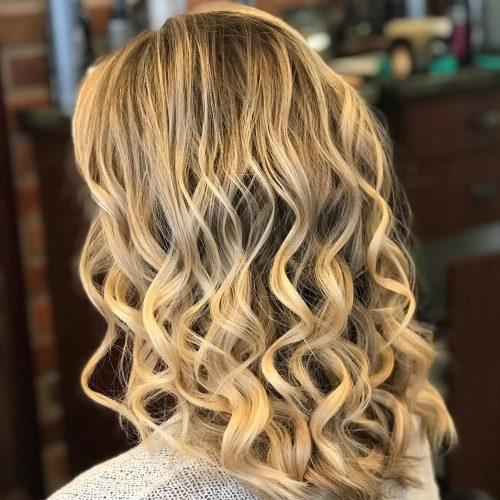 36 Curled Hairstyles Tending In 2019 So Grab Your Hair