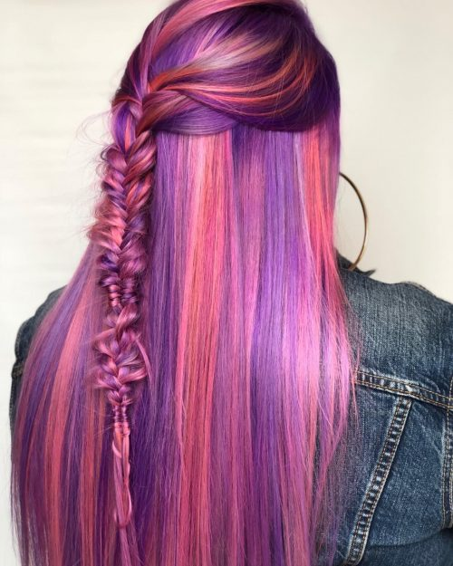 Fishtail Mermaid Hair