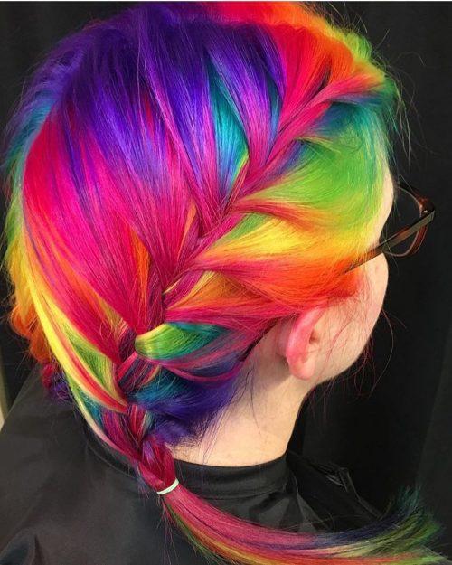 vibrant rainbow