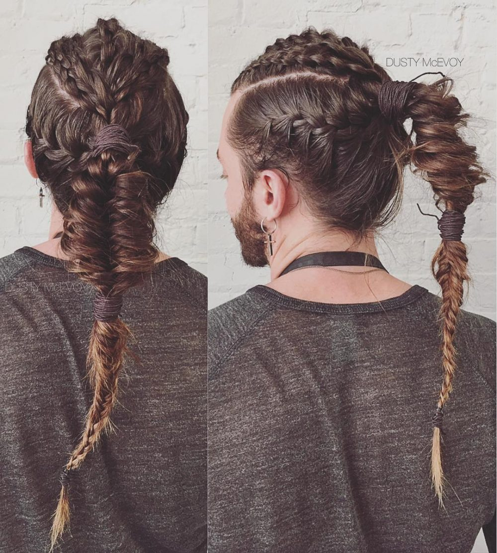 28 Braids for Men , + Cool Man Braid Hairstyles for Guys