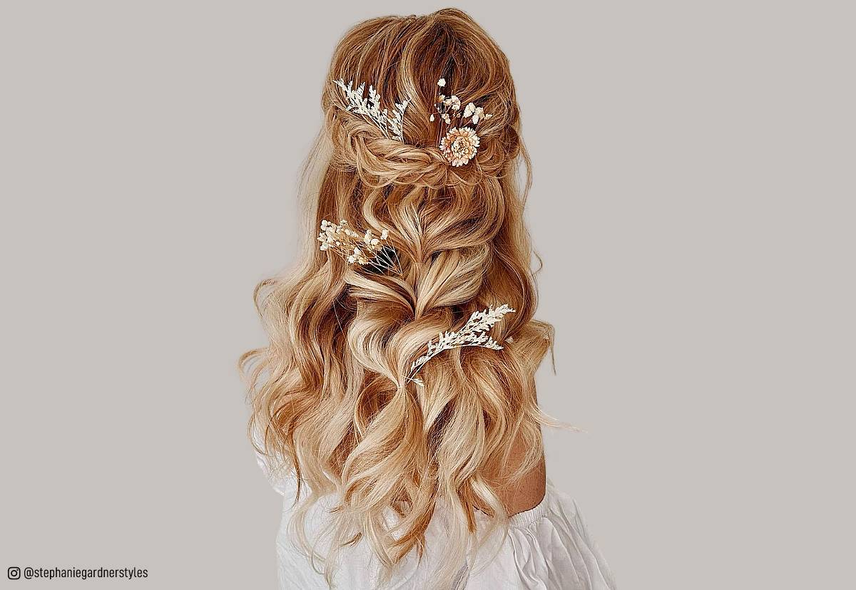 gorgeous wedding hairstyles for long hair in