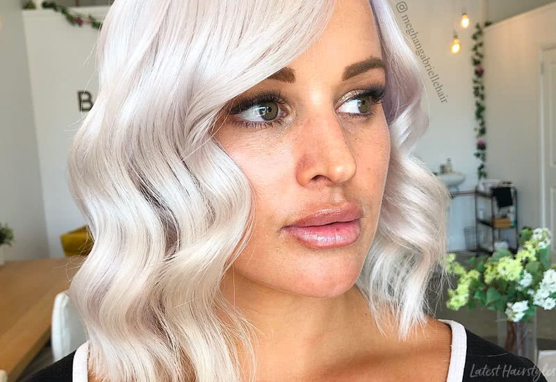 17 Examples That Prove White Blonde Hair Is In for 2020